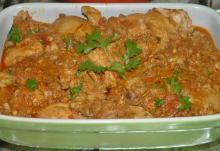 Indische kerrie kip