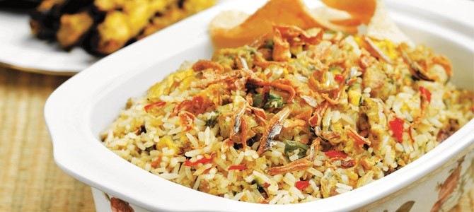 Nasi goreng Bali (Roys Indo recepten)